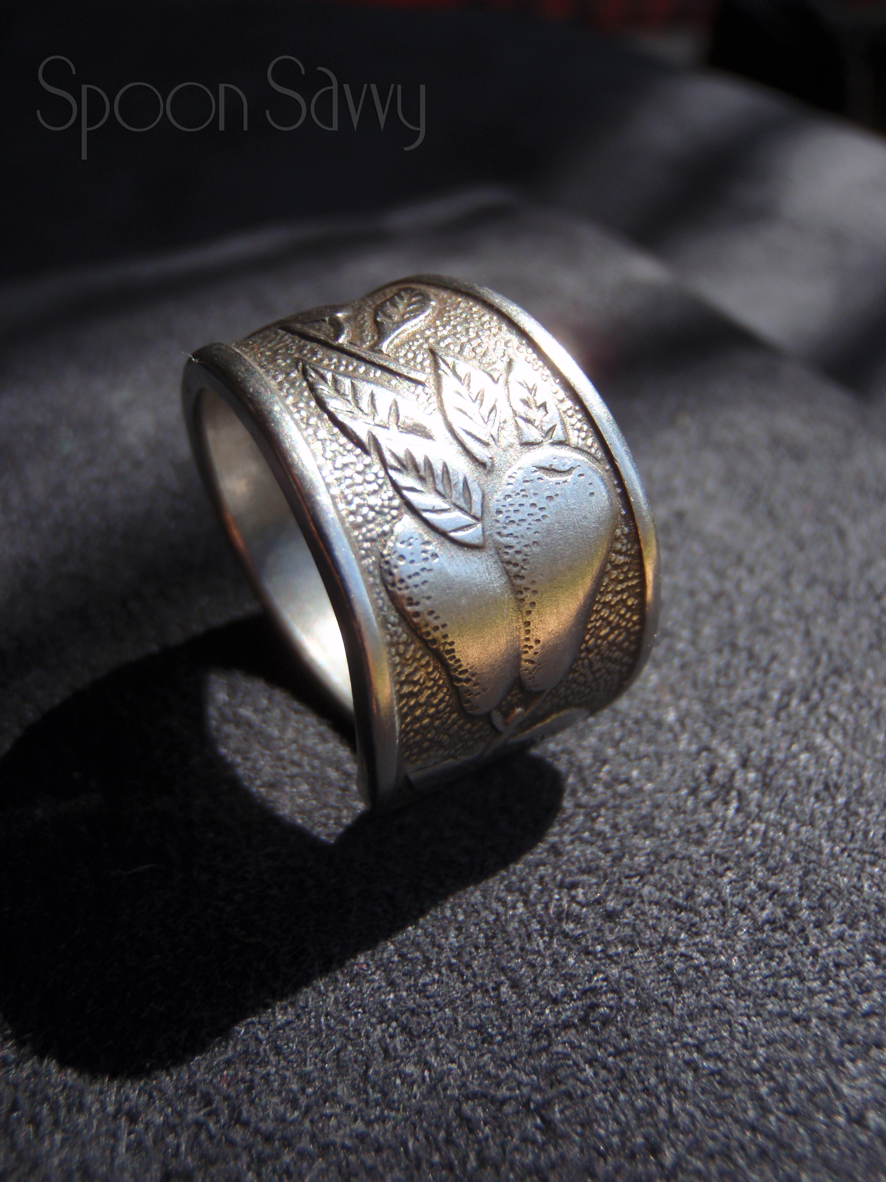 how to make a spoon ring youtube