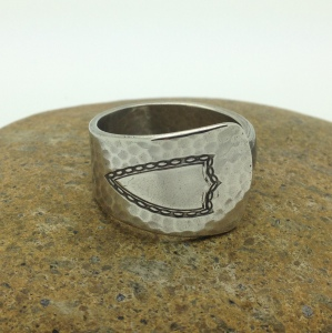 a spoon ring for him - design 04